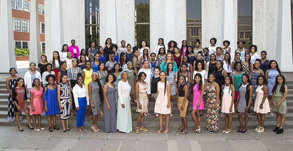 At the Well Young Women's Leadership Academy at Princeton University